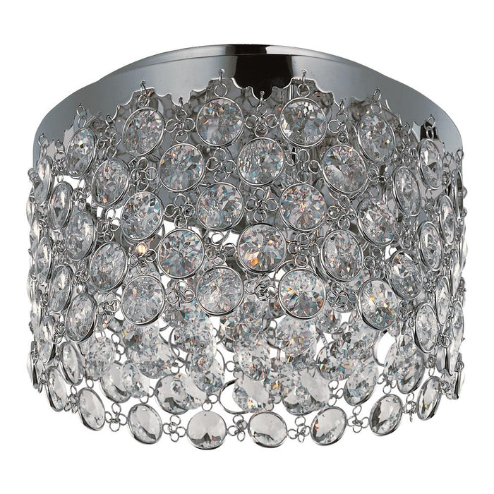 ET2 E21150-20PC Dazzle 4-Light Flush Mount in Polished Chrome