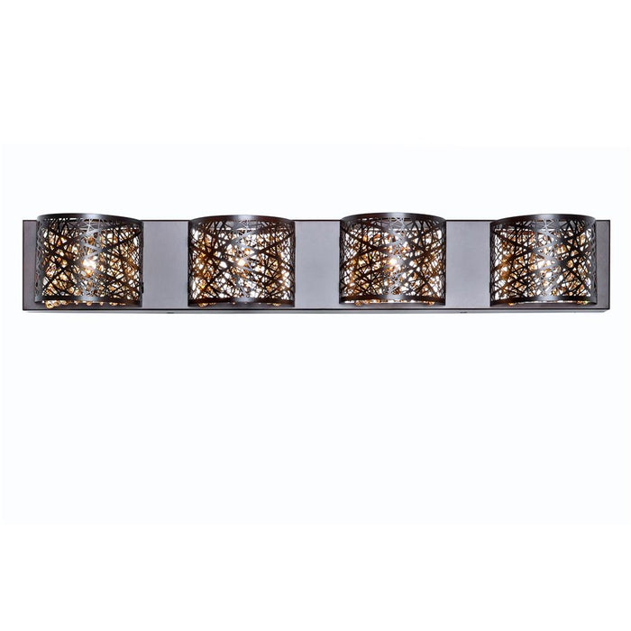 ET2 E21317-10BZ Inca 4-Light Wall Mount in Bronze