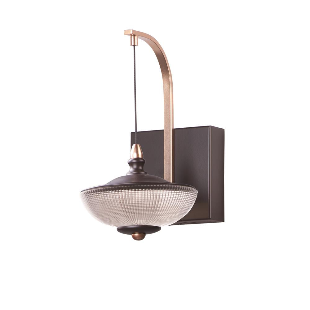 ET2 E23159-126BRZGLD Bella-Wall Sconce in Bronze / Gold