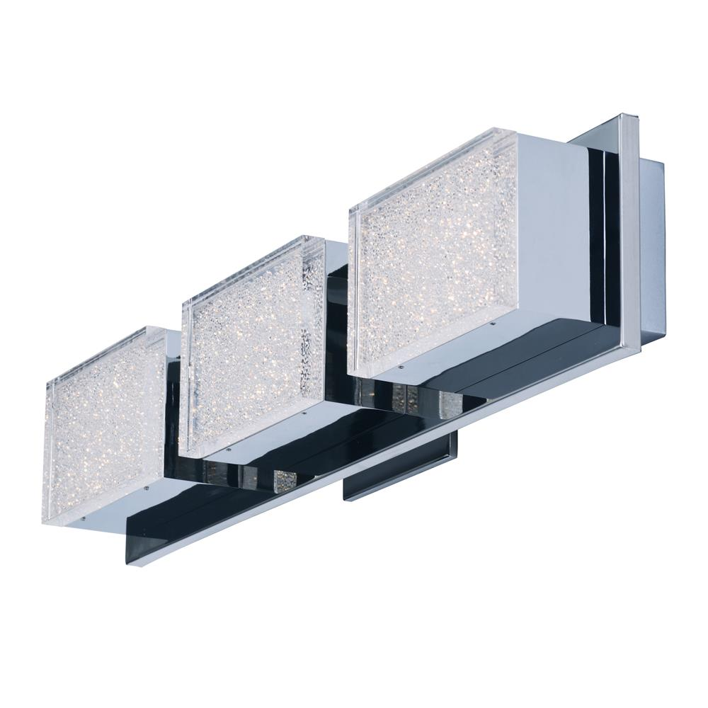 ET2 E24463-160PC Pizzazz LED-Wall Sconce in Polished Chrome