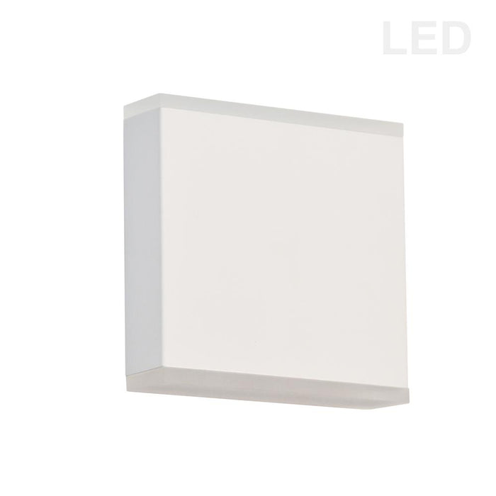 Dainolite EMY-550-5W-MW Emery 15W LED Wall Sconce, Matte White with Frosted Acrylic Diffuser