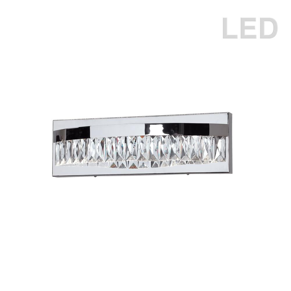 Dainolite KIM-14W-PC 10W LED Vanity, Polished Chrome Finish
