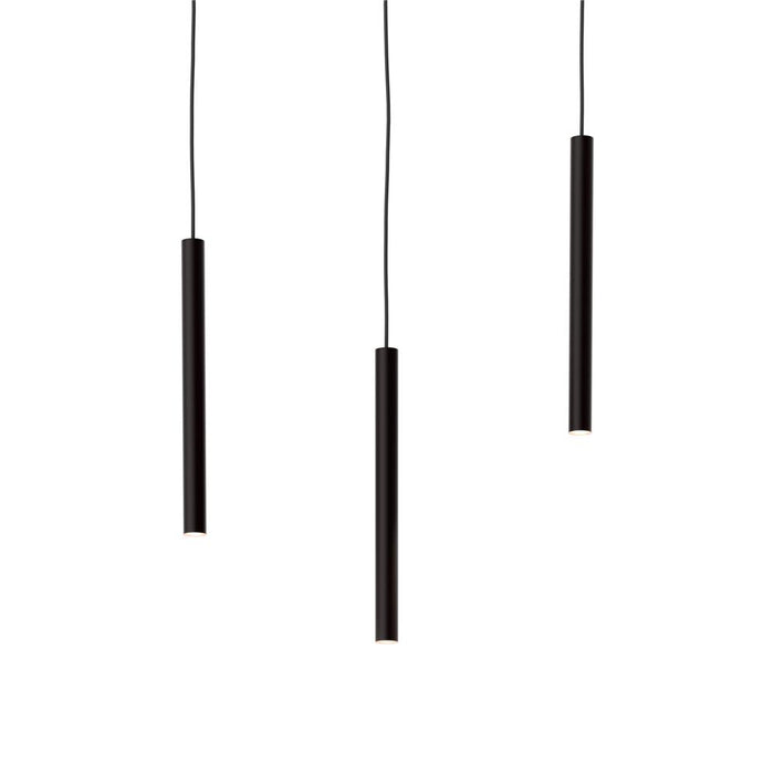 "Dals Lighting PDC18-CC-SBA 18"" Recessed Pendant"
