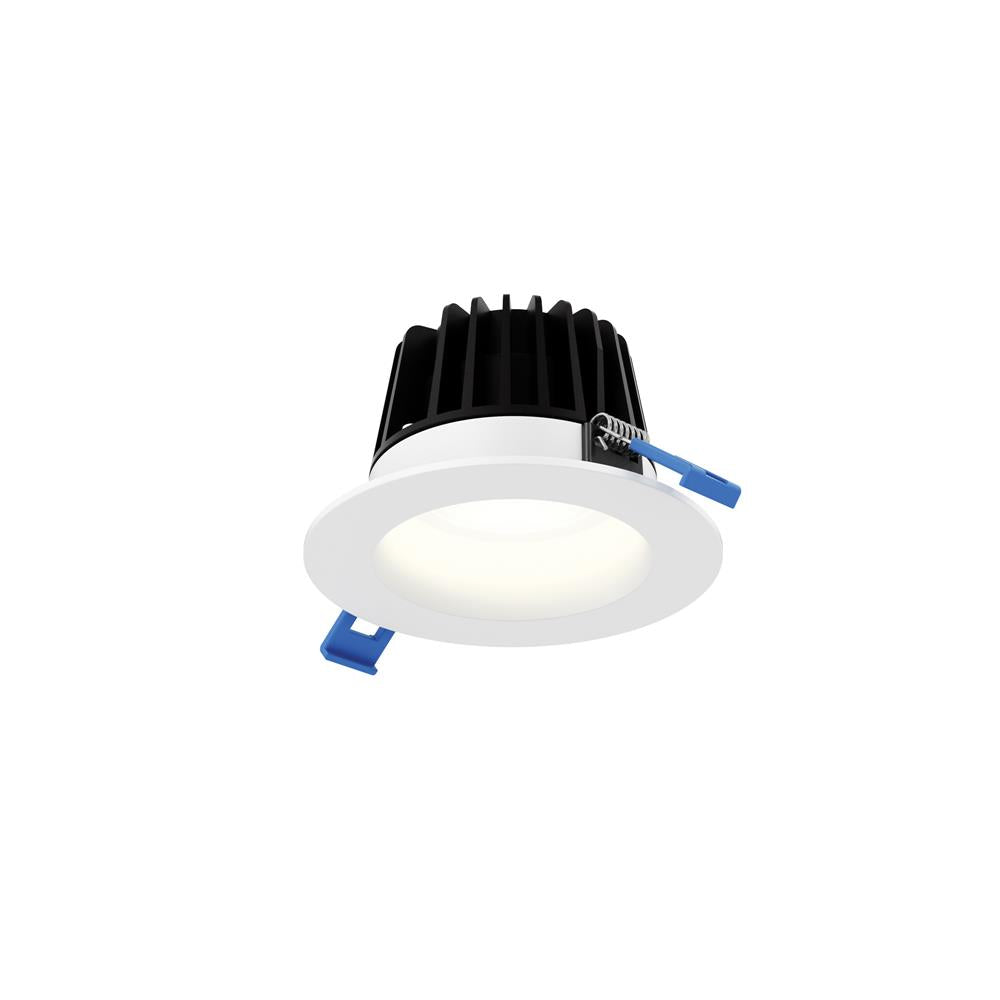 "Dals Lighting RGR4-3K-WH 4"" Round Smooth Baffle, 15W, 3000K, 1300 Lumens - Whiteite"