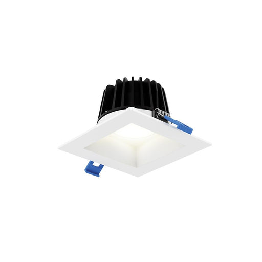 "Dals Lighting RGR4SQ-3K-WH 4"" Square Smooth Baffle, 15W, 3000K, 1100 Lumens - Whiteite"