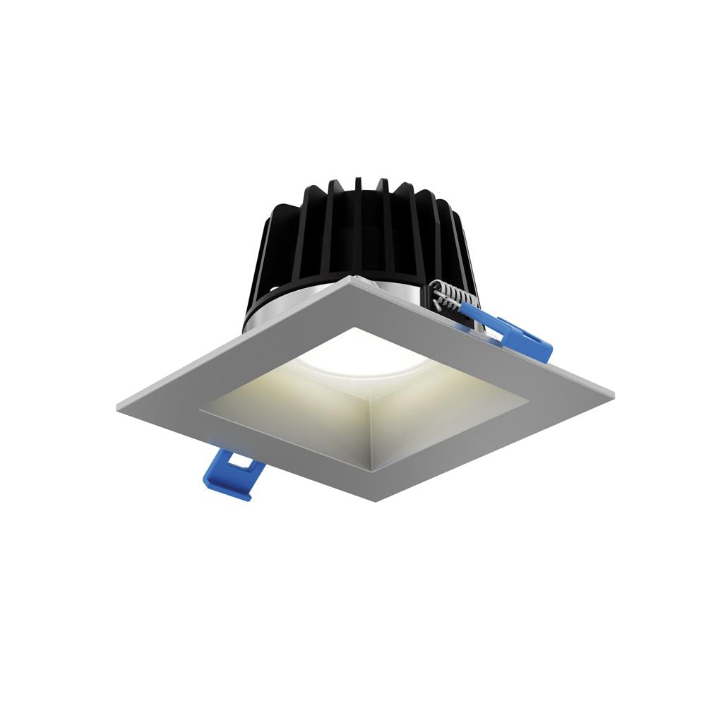 "Dals Lighting RGR6SQ-3K-SNRGR 6"" Square Smooth Baffle Downlight in Satin Nickel"