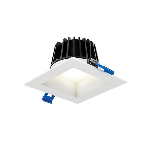 "Dals Lighting RGR6SQ-3K-WHRGR 6"" Square Smooth Baffle Downlight in White"