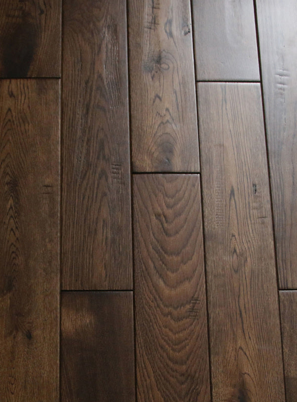 RSTM Antique - Handscraped French White Oak Hardwood Flooring