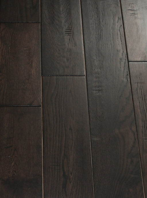 RSTM Coffee - Handscraped French White Oak Hardwood Flooring