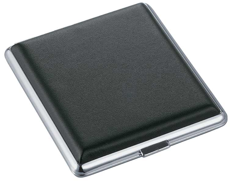 Visol Umbra Leather Double Sided Cigarette Case