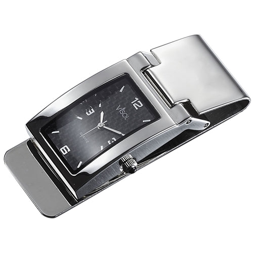 Visol Maxwell Carbon Fiber Premium Qualiy Watch Money Clip