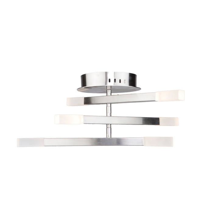 Steven and Chris by Artcraft Lighting SC13097SN Twig Flush Mount in Satin Nickel
