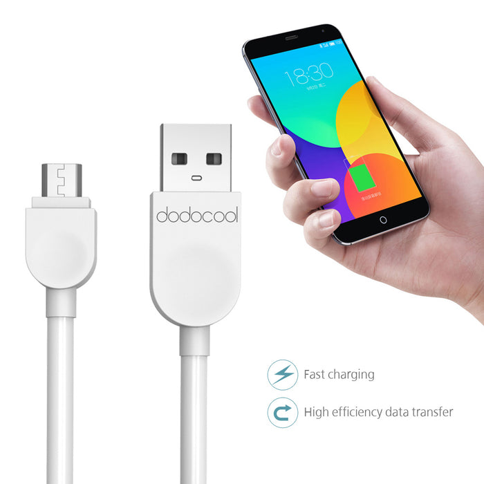 USB Cable dodocool 1m Micro USB Cable Data Sync Charger Cable for Samsung Galaxy Xiaomi HuaWei LG Mobile Phone USB Charger Cable