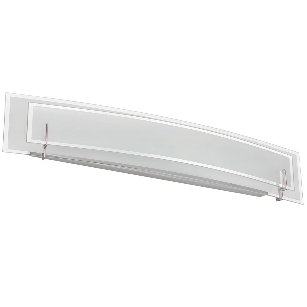 Dainolite Lighting V034-4W-SC Signature 4 Light Vanity in Satin Chrome