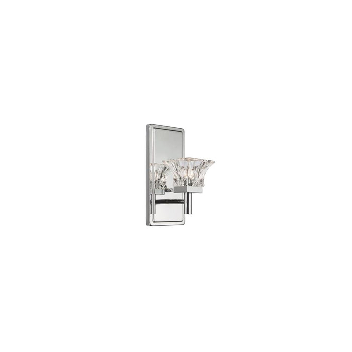 Dainolite V144-1W-PC 1LT Halogen Wall Sconce, PC Finish