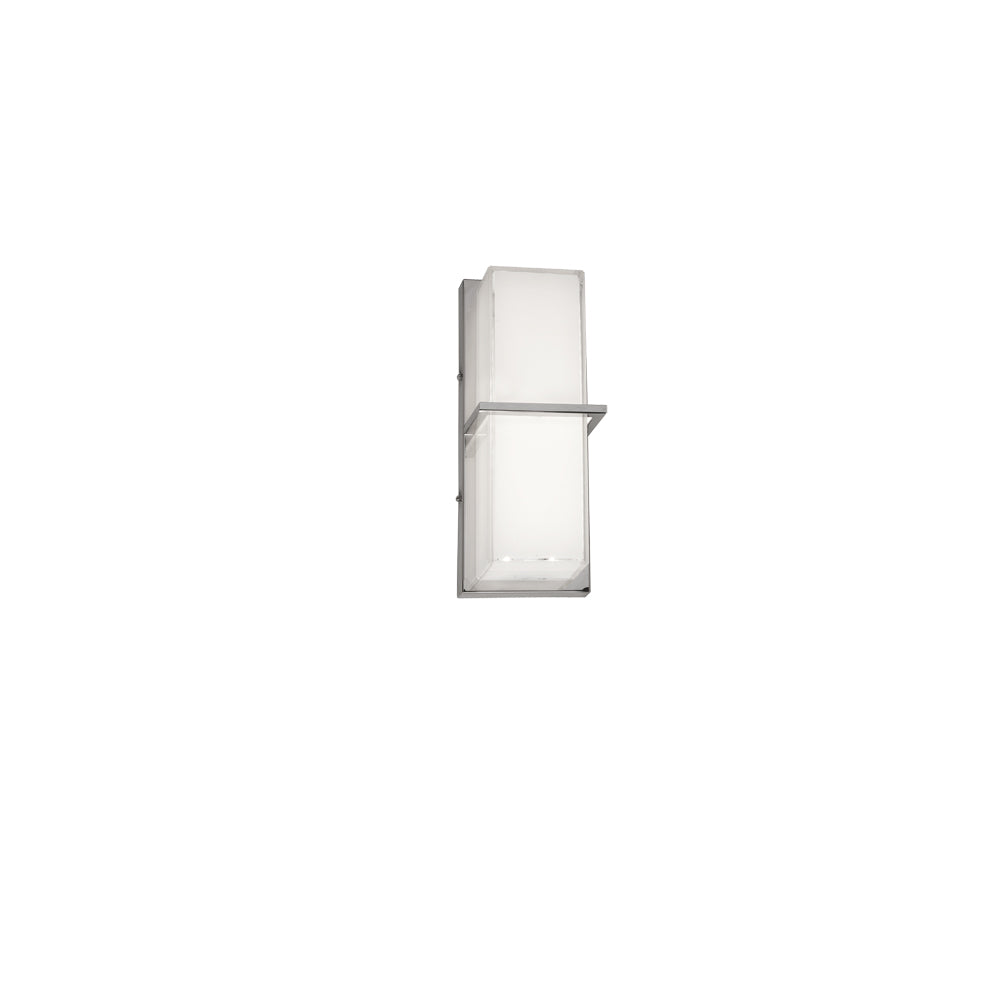 Dainolite VLD-311-PC 14W LED Wall Sconce, White Cased Glass, PC