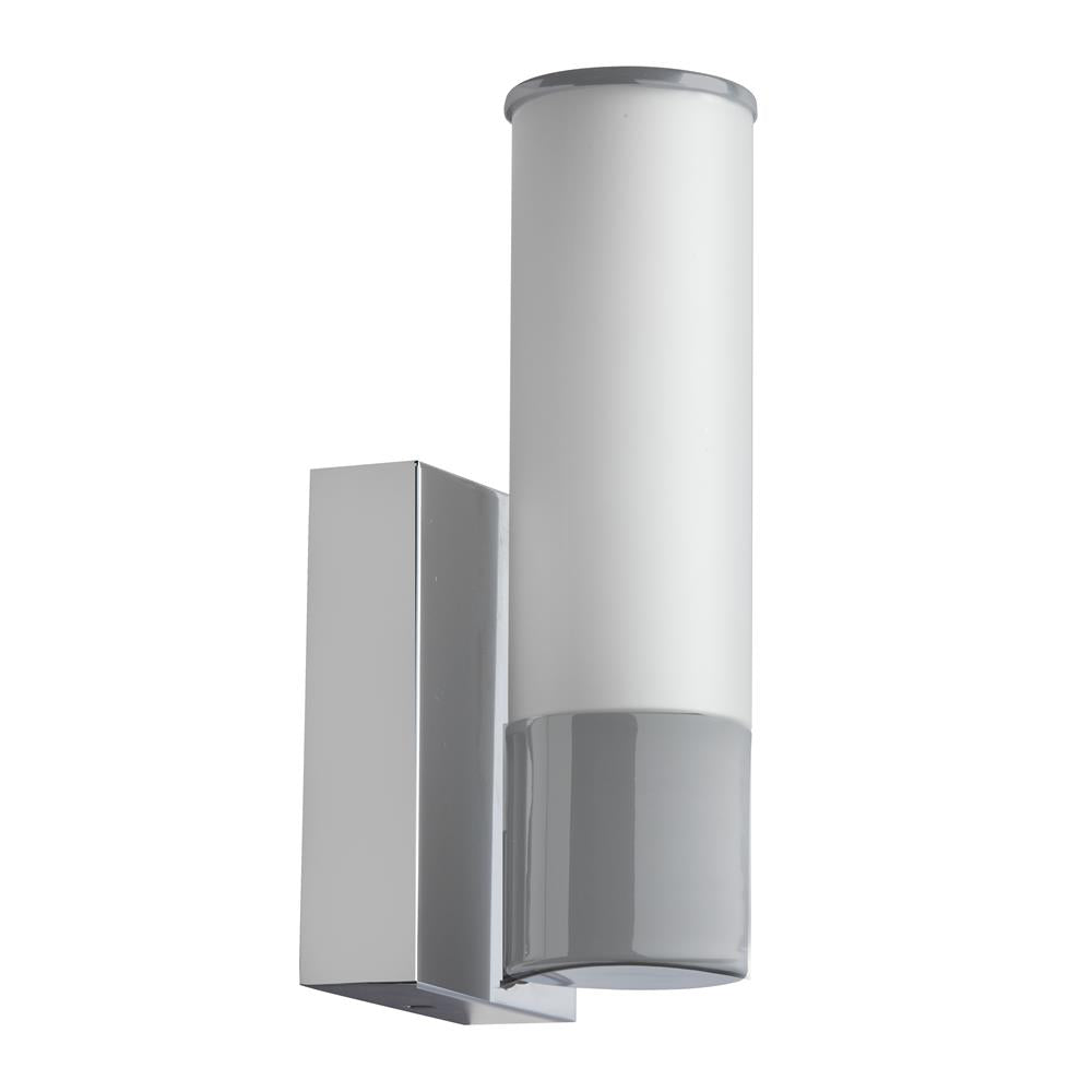 Dainolite VLD-811W-SC 1LT LED Sconce, Satin Chrome
