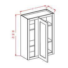Shaker Cinder - Wall Blind Cabinets