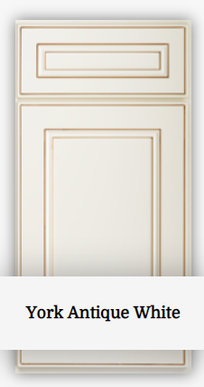 York Antique White - Sample Door