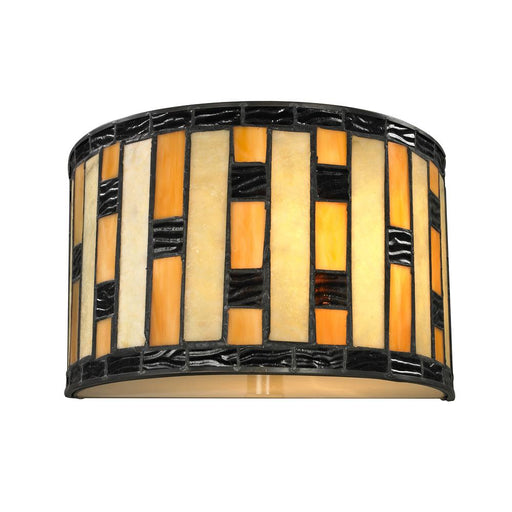 Z-Lite Z10-51WS Raya 1 Light Wall Sconce in Java Bronze