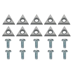 Carbide Inserts - 10 Pack
