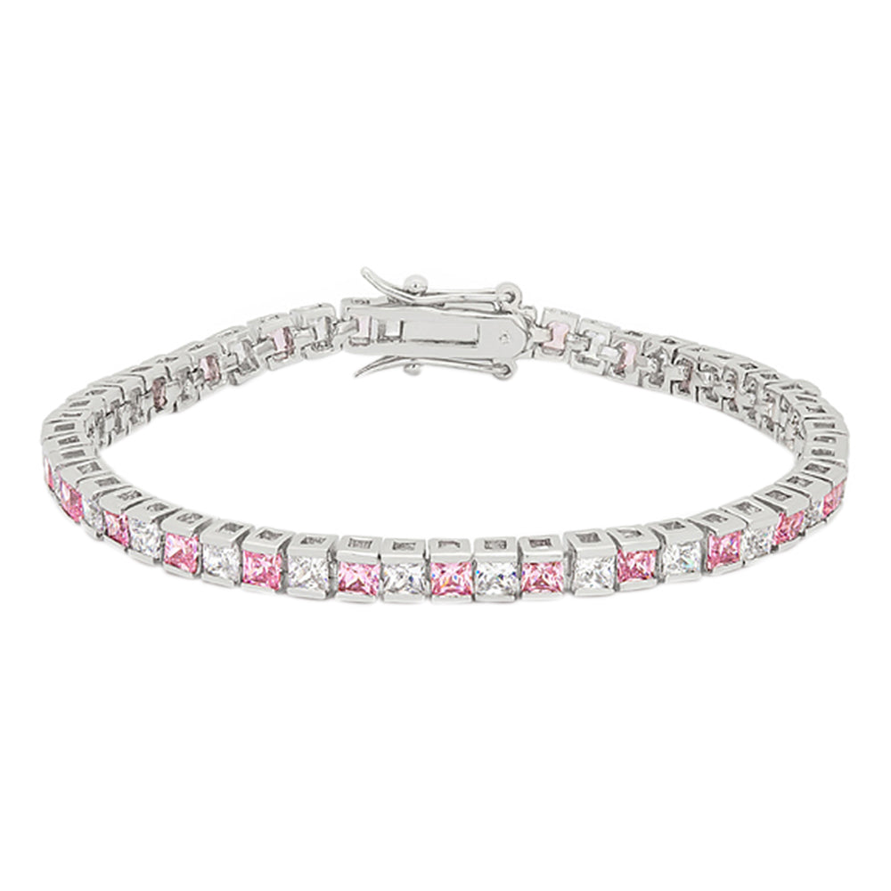 J Goodin Contemporary Fashion Style Valentine Cubic Zirconia Tennis Bracelet For Women