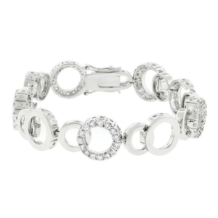 J Goodin Contemporary Fashion Style Circle Bijoux 7 Inch Bracelet For Women