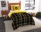 "Iowa OFFICIAL Collegiate, Bedding, Twin Applique Comforter (64""""x 86"""") & 1 Sham (20""""x 26"""") Set  by The Northwest Company"