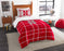 "Nebraska OFFICIAL Collegiate, Bedding, Twin Applique Comforter (64""""x 86"""") & 1 Sham (20""""x 26"""") Set  by The Northwest Company"