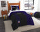 "Ravens OFFICIAL National Football League, Bedding Twin Applique Comforter (64""""x 86"""") & 1 Sham (20""""x 26"""") Set  by The Northwest Company"