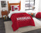 "Arkansas OFFICIAL Collegiate, Bedding, """"Modern Take"""" Twin Printed Comforter (64""""x 86"""") & 1 Sham (24""""x 30"""") Set  by The Northwest Company"