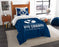 "BYU OFFICIAL Collegiate, Bedding, """"Modern Take"""" Twin Printed Comforter (64""""x 86"""") & 1 Sham (24""""x 30"""") Set  by The Northwest Company"