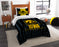 "Iowa OFFICIAL Collegiate, Bedding, """"Modern Take"""" Twin Printed Comforter (64""""x 86"""") & 1 Sham (24""""x 30"""") Set  by The Northwest Company"