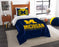 "Michigan OFFICIAL Collegiate, Bedding, """"Modern Take"""" Twin Printed Comforter (64""""x 86"""") & 1 Sham (24""""x 30"""") Set  by The Northwest Company"