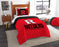 "Rutgers OFFICIAL Collegiate, Bedding, """"Modern Take"""" Twin Printed Comforter (64""""x 86"""") & 1 Sham (24""""x 30"""") Set  by The Northwest Company"