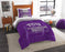 "TCU OFFICIAL Collegiate, Bedding, """"Modern Take"""" Twin Printed Comforter (64""""x 86"""") & 1 Sham (24""""x 30"""") Set  by The Northwest Company"