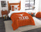 "Texas  OFFICIAL Collegiate, Bedding, """"Modern Take"""" Twin Printed Comforter (64""""x 86"""") & 1 Sham (24""""x 30"""") Set  by The Northwest Company"