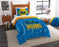 "UCLA OFFICIAL Collegiate, Bedding, """"Modern Take"""" Twin Printed Comforter (64""""x 86"""") & 1 Sham (24""""x 30"""") Set  by The Northwest Company"
