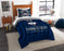 "UConn OFFICIAL Collegiate, Bedding, """"Modern Take"""" Twin Printed Comforter (64""""x 86"""") & 1 Sham (24""""x 30"""") Set  by The Northwest Company"