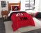 "Utah OFFICIAL Collegiate, Bedding, """"Modern Take"""" Twin Printed Comforter (64""""x 86"""") & 1 Sham (24""""x 30"""") Set  by The Northwest Company"