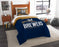 "Brewers OFFICIAL Major League Baseball, Bedding, Printed Twin Comforter (64""""x 86"""") & 1 Sham (24""""x 30"""") Set  by The Northwest Company"