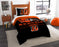 "Bengals OFFICIAL National Football League, Bedding, """"Draft"""" Printed Twin Comforter (64""""x 86"""") & 1 Sham (24""""x 30"""") Set  by The Northwest Company"