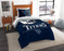 "Titans OFFICIAL National Football League, Bedding, """"Draft"""" Printed Twin Comforter (64""""x 86"""") & 1 Sham (24""""x 30"""") Set  by The Northwest Company"