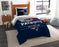 "Patriots OFFICIAL National Football League, Bedding, """"Draft"""" Printed Twin Comforter (64""""x 86"""") & 1 Sham (24""""x 30"""") Set  by The Northwest Company"