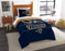 "Rams OFFICIAL National Football League, Bedding, """"Draft"""" Printed Twin Comforter (64""""x 86"""") & 1 Sham (24""""x 30"""") Set  by The Northwest Company"
