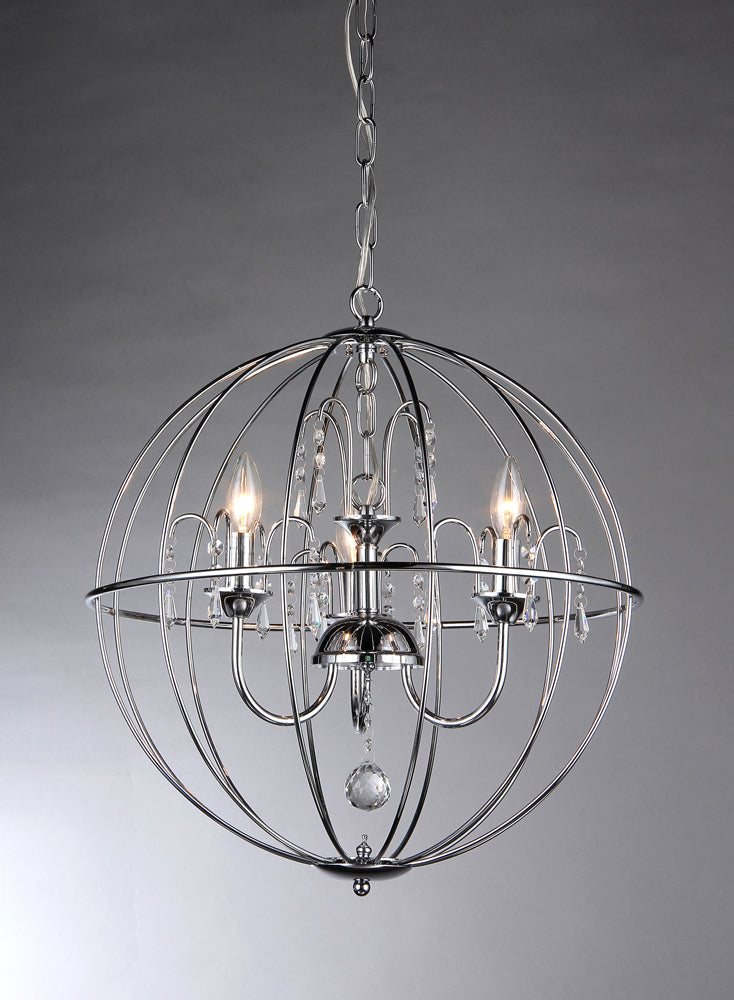 Crystal Cage Chandelier