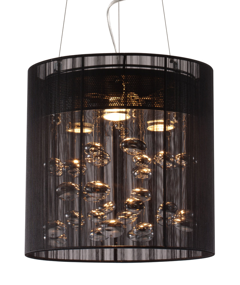 Subatomic Ceiling Lamp Black
