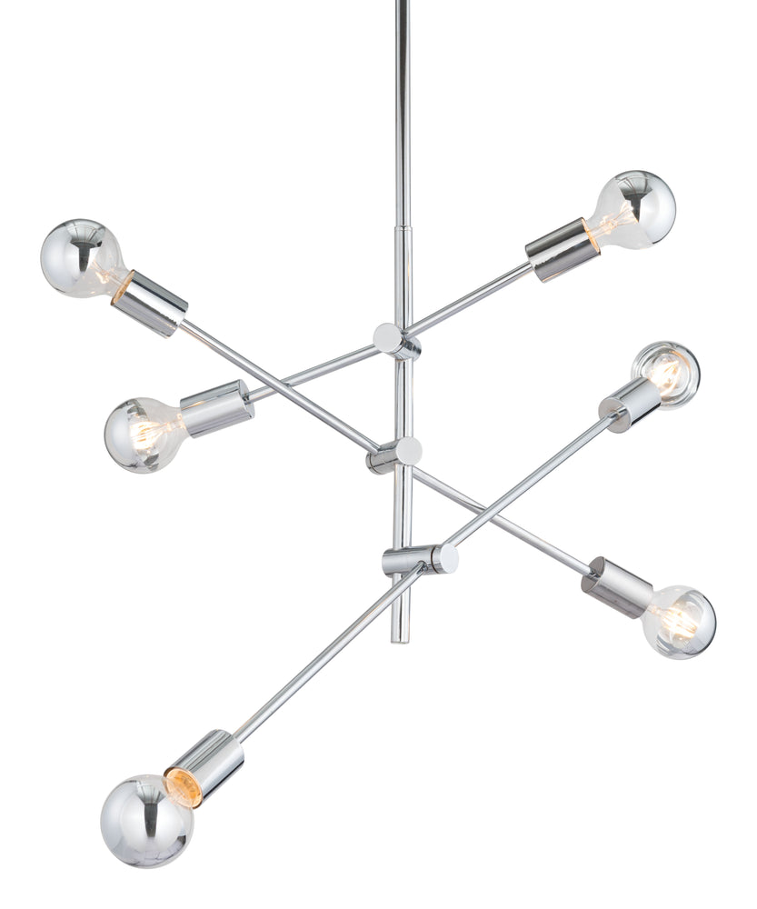 Brixton Ceiling Lamp Chrome