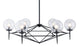 Carmine Ceiling Lamp Black