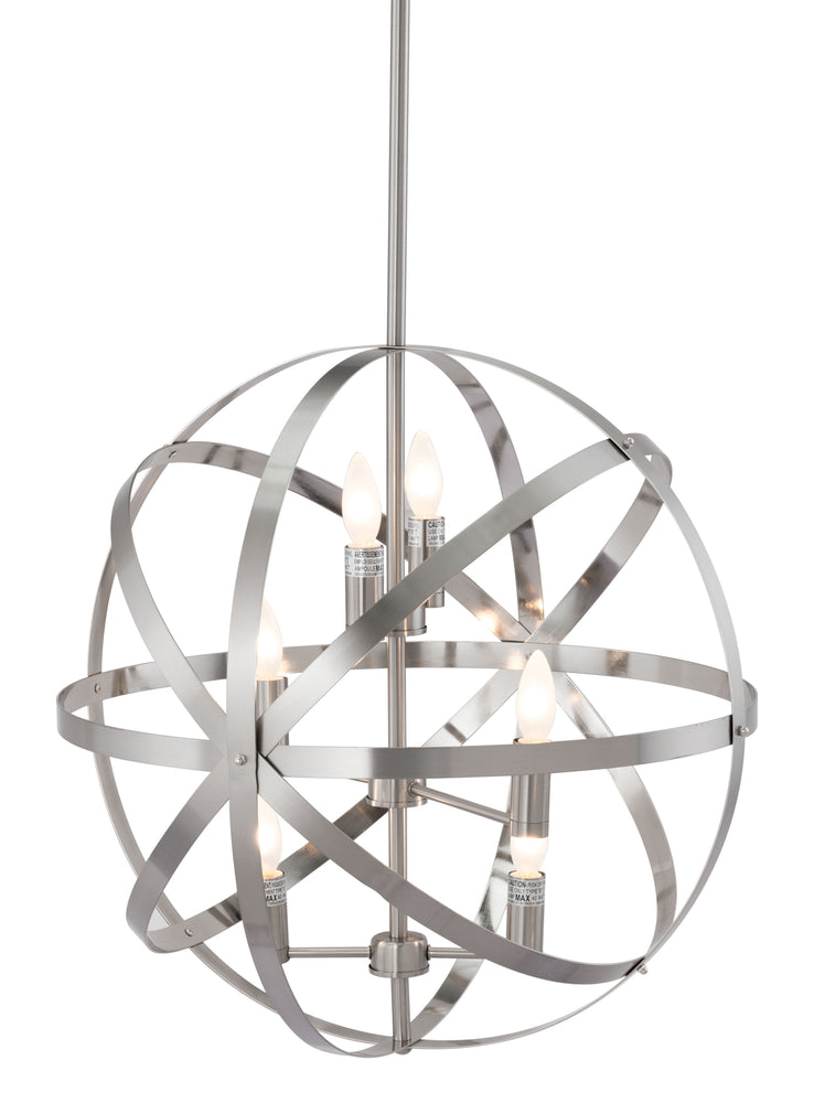 Aston Ceiling Lamp Satin Nickel